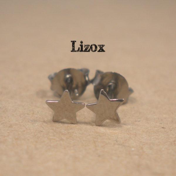 lizox-sterling-silver-black-star-earrings