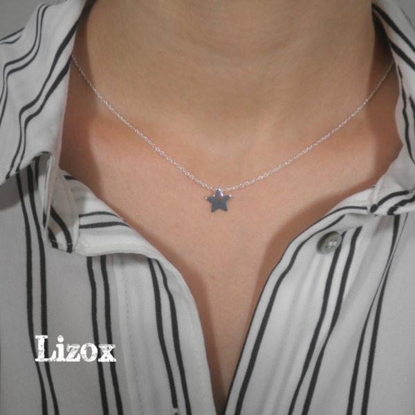 Lizox Jewelry Star Necklace