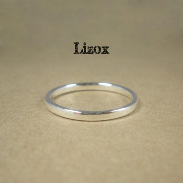 2mm Plain Silver Ring