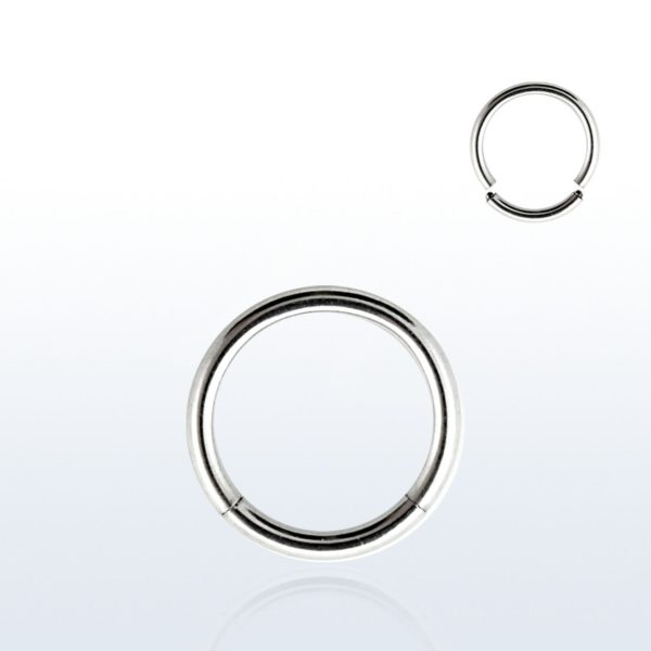 surgical steel segment ring