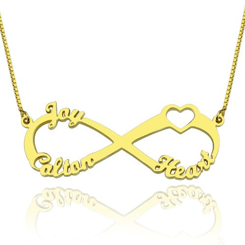 3 name necklace